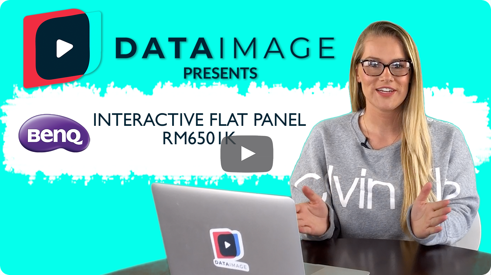Data Image Presents the BenQ Interactive Flat Panel RM6501K
