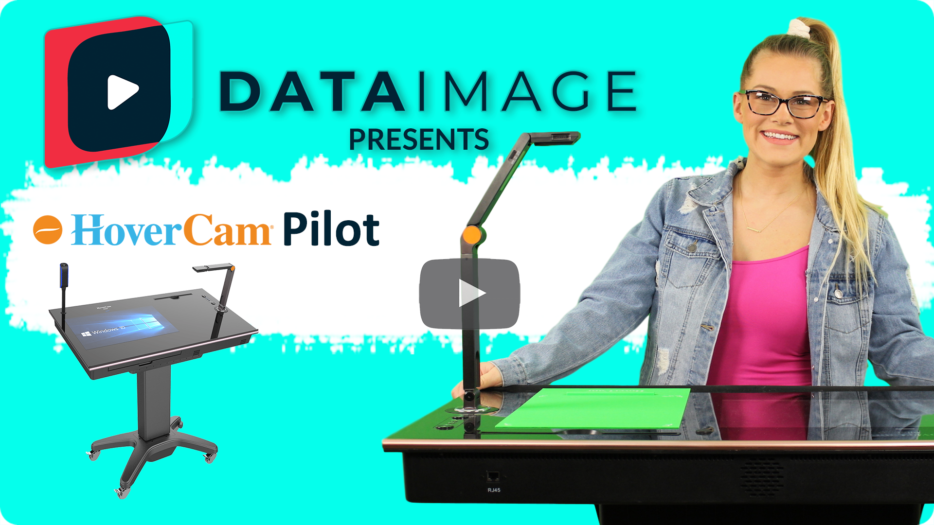 Data Image Presents the HoverCam Pilot 3 Wireless Digital Teaching Station