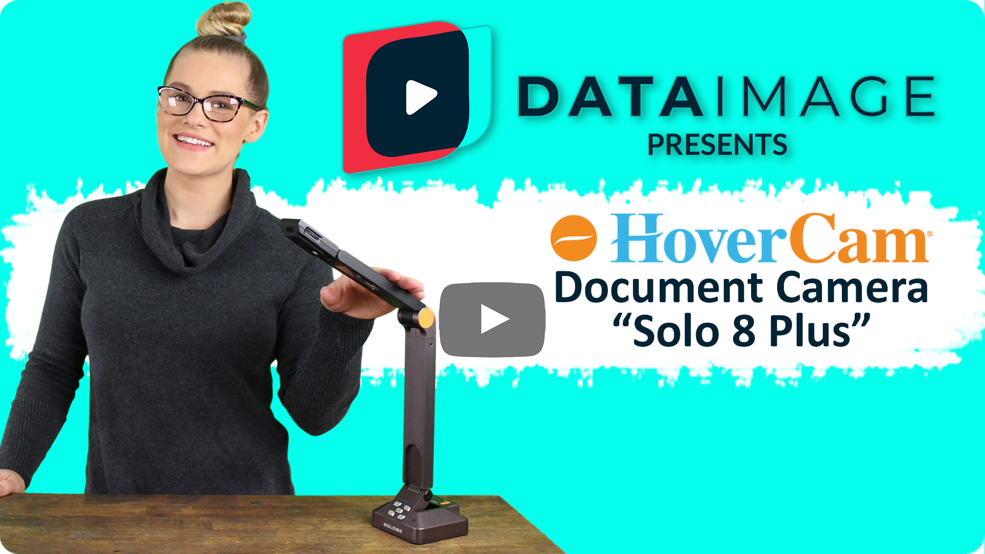 Data Image Presents the HoverCam Solo 8 Plus Document Camera