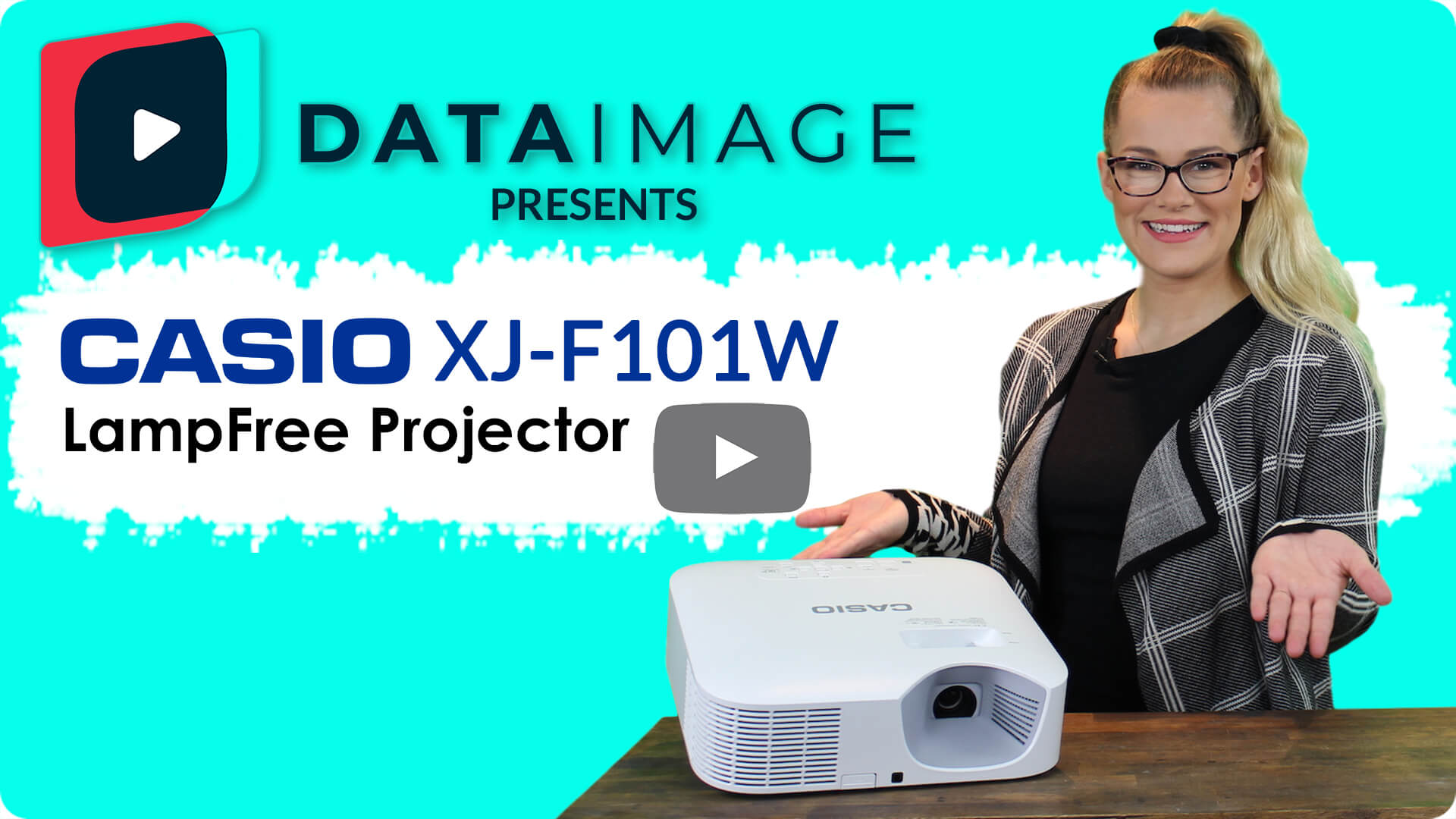 Data Image Presents the Casio XJ-F100W Lamp Free Classroom Projector